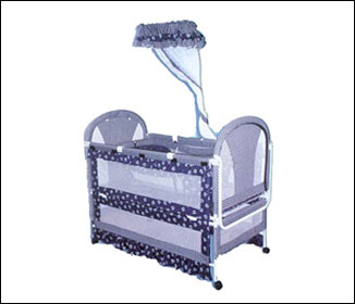 Purple Baby Crib